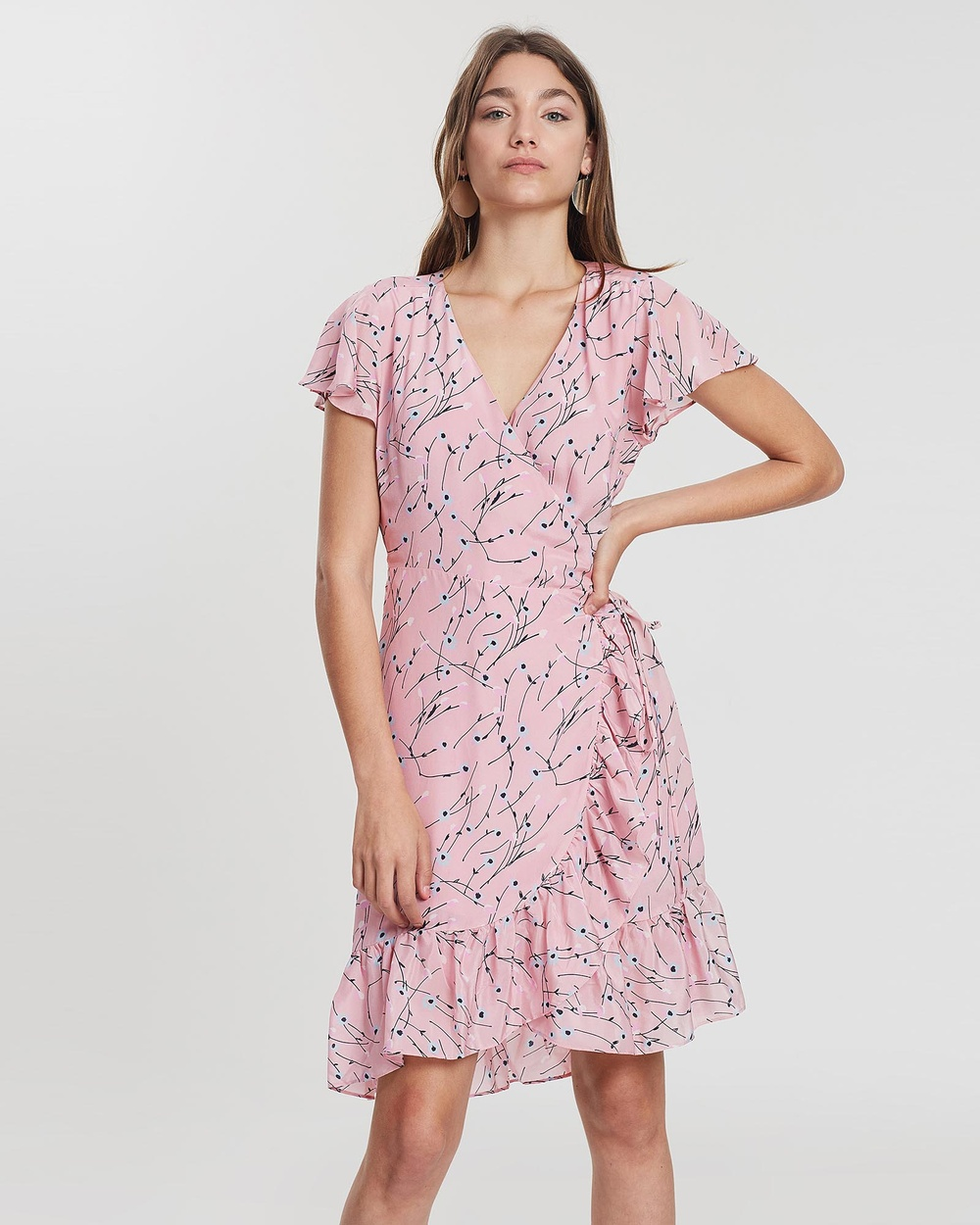 Ella Sanders Pink Daisy Dress