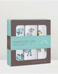 Aden & Anais - 3 Pack Washcloths