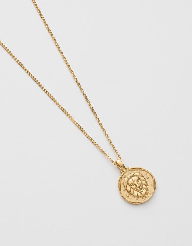 Women Leo Zodiac Necklace