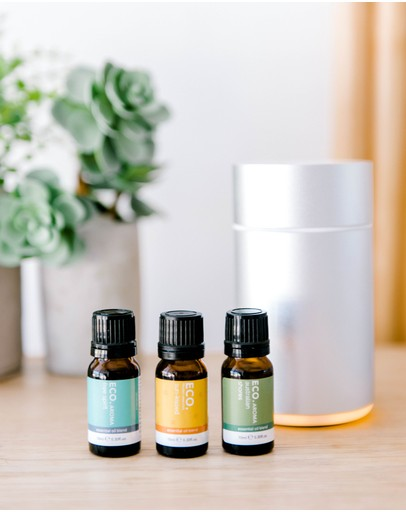 ECO. Modern Essentials - ECO. Nebulizing Diffuser & Sunshine State of Mind Trio Collection