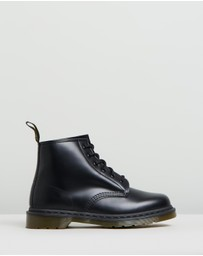 Dr Martens - 101 Smooth 6-Eye Boots - Women's