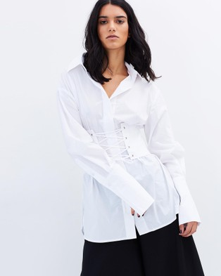 Eclect – Holmes Blouse White