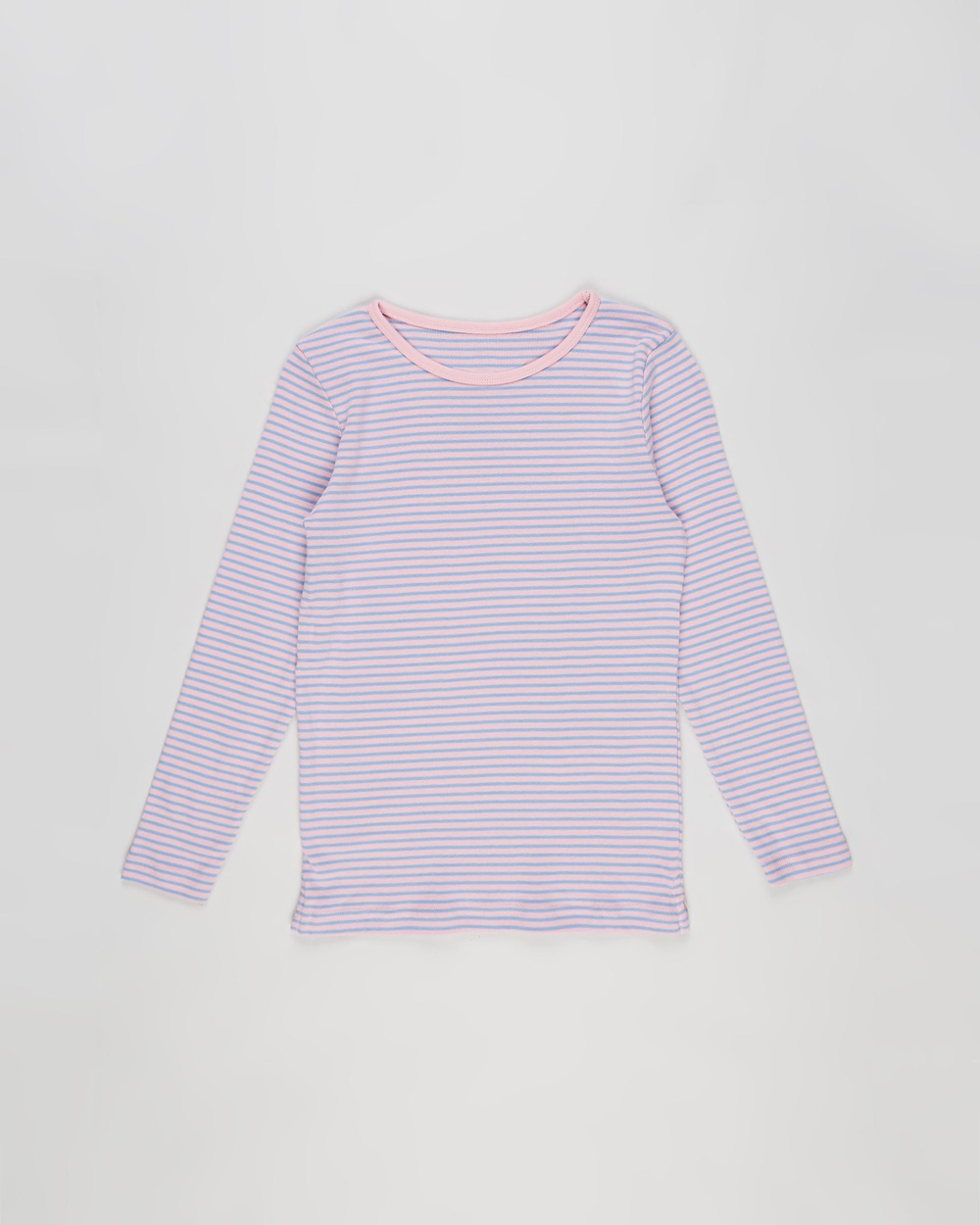 Cotton On Kids - Jessie Crew Tee   Kids Teens - T-Shirts & Singlets (Marshmallow & Summer Sky Stripe) Jessie Crew Tee - Kids-Teens