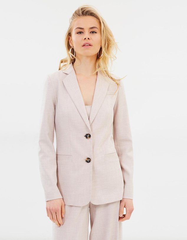 FRIEND of AUDREY - Peta Textured Blazer