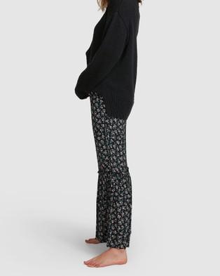 Billabong Bloom Flare Pant - Pants (BLACK)
