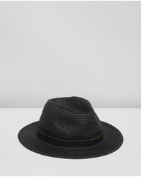 Scotch & Soda - Classic Straw Fedora