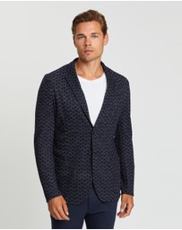 Emporio Armani - Unstructured Knit Jacket