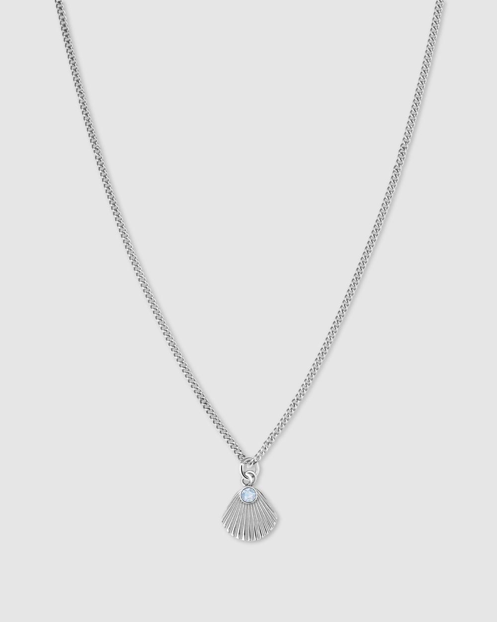 Rosefield Sunray Pendant Necklace Jewellery Silver