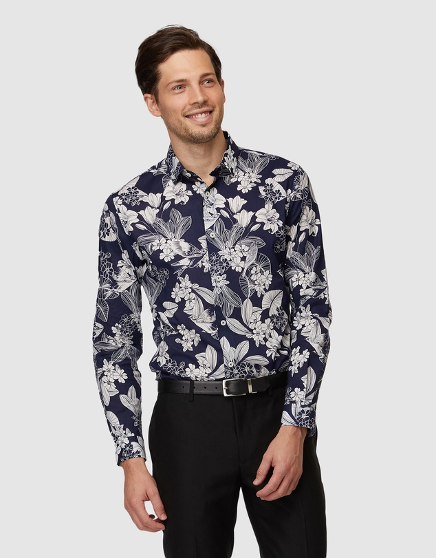 Jack London - Heston Floral Shirt