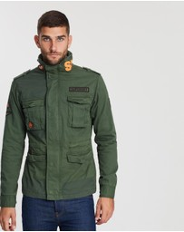 Superdry - Rookie Mix 4 Pocket Jacket