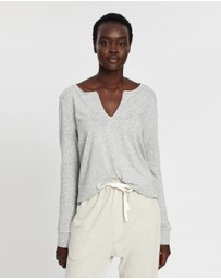 Gap - Cotton Modal V-Neck Sleep Top