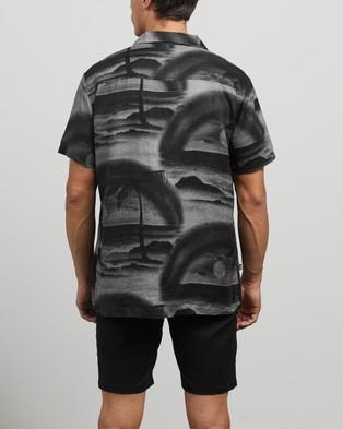 Stussy Island Linen Shirt - Casual shirts (Black)