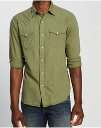 RRL - Buffalo Western Long Sleeve Sport Shirt