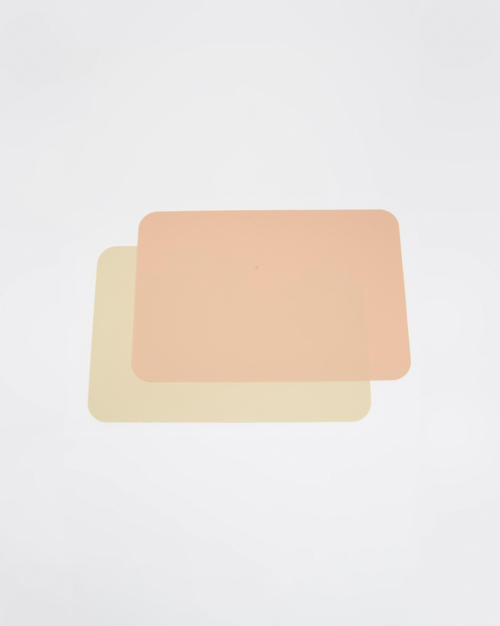 Bare and Boho Silicone Placemat Rectangle 2 Pack ICONIC EXCLUSIVE Nursing & Feeding Oat Mushroom Pink 2-Pack