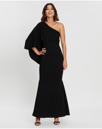 Montique - Cosmina One-Shoulder Gown