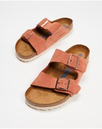 Birkenstock - Arizona Regular SFB Suede Leather - Women's