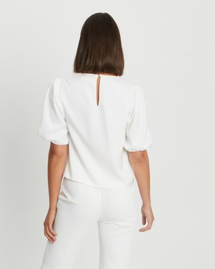 CHANCERY Mickey Blouse - Tops (White)