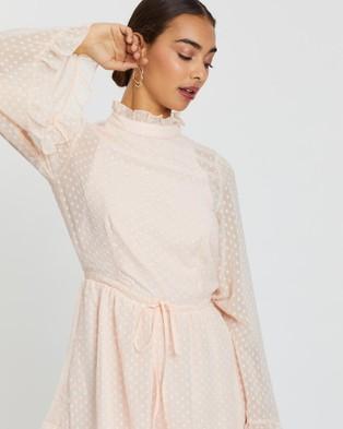 Loreta Scarlett Playsuit - Jumpsuits & Playsuits (Blush)