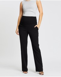 Soon Maternity - Classic Straight Work Pants