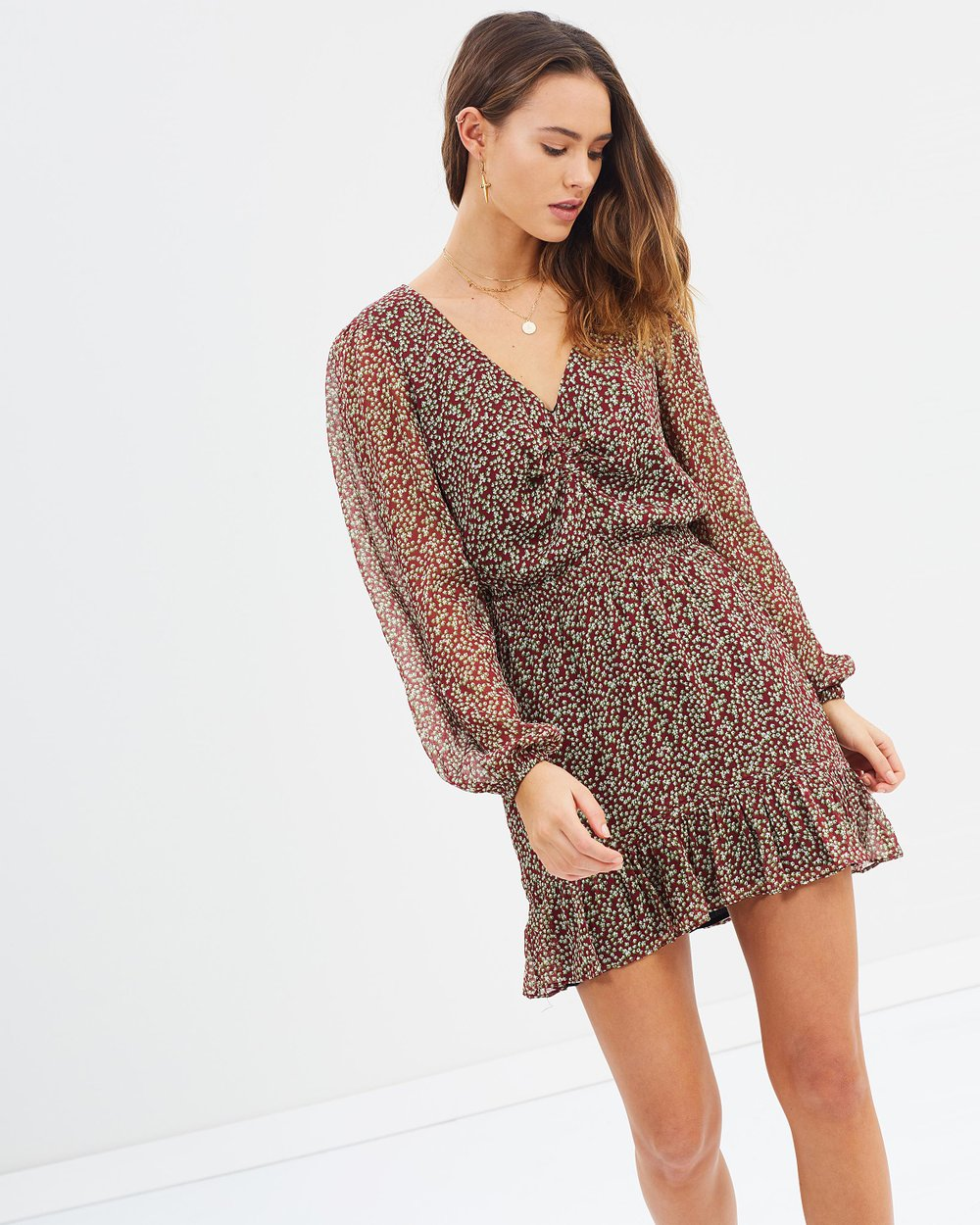 3fea23853a Arielle Mini Dress by The East Order Online   THE ICONIC   Australia