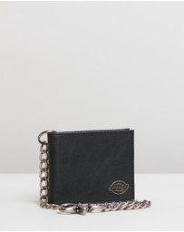 Dickies - Slim Wallet With Chain