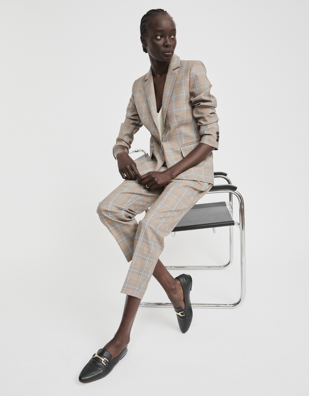 Women Clemence Leather Loafer