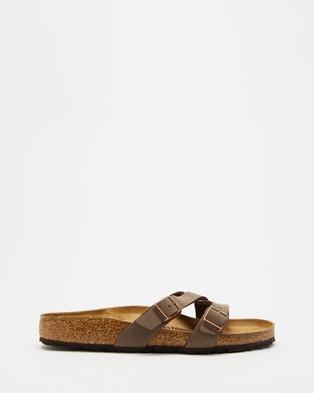 Birkenstock Yao Birko Flor Regular   Women's - Sandals (Mocca)