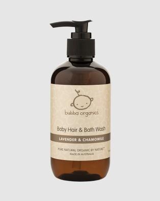 Bubba Organics Lavender and Chamomile Baby Bath and Body Gift Box - Beauty (Lavender & Chamomile)