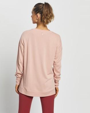 Sweaty Betty After Class Sweatshirt - Sweats (Rose Pink)