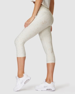 L'urv Wilderness 3 4 Leggings - 3/4 Tights (White)