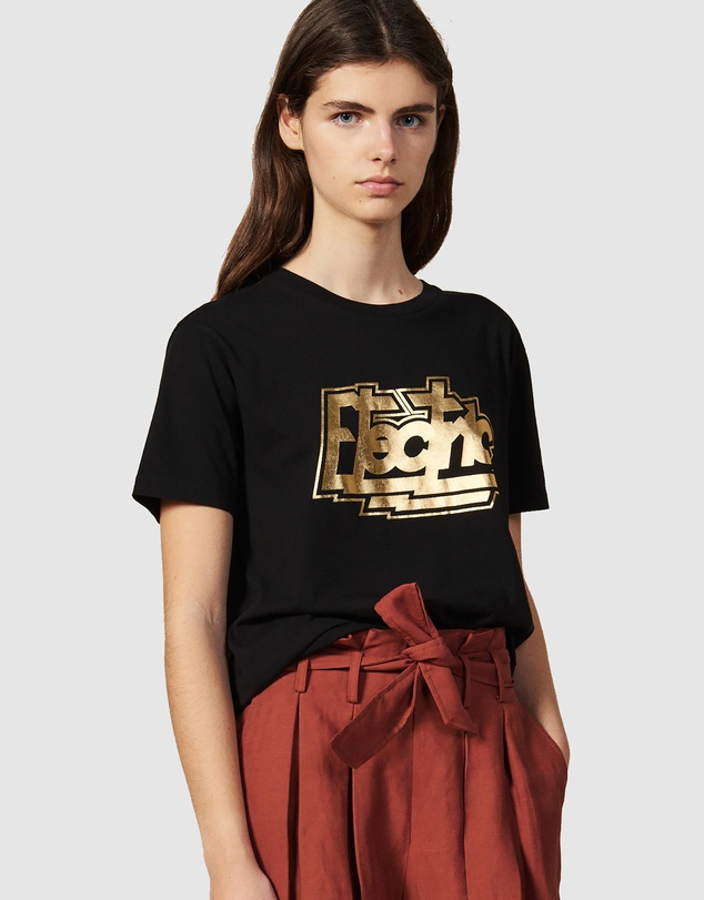 Sandro - Electric T-Shirt