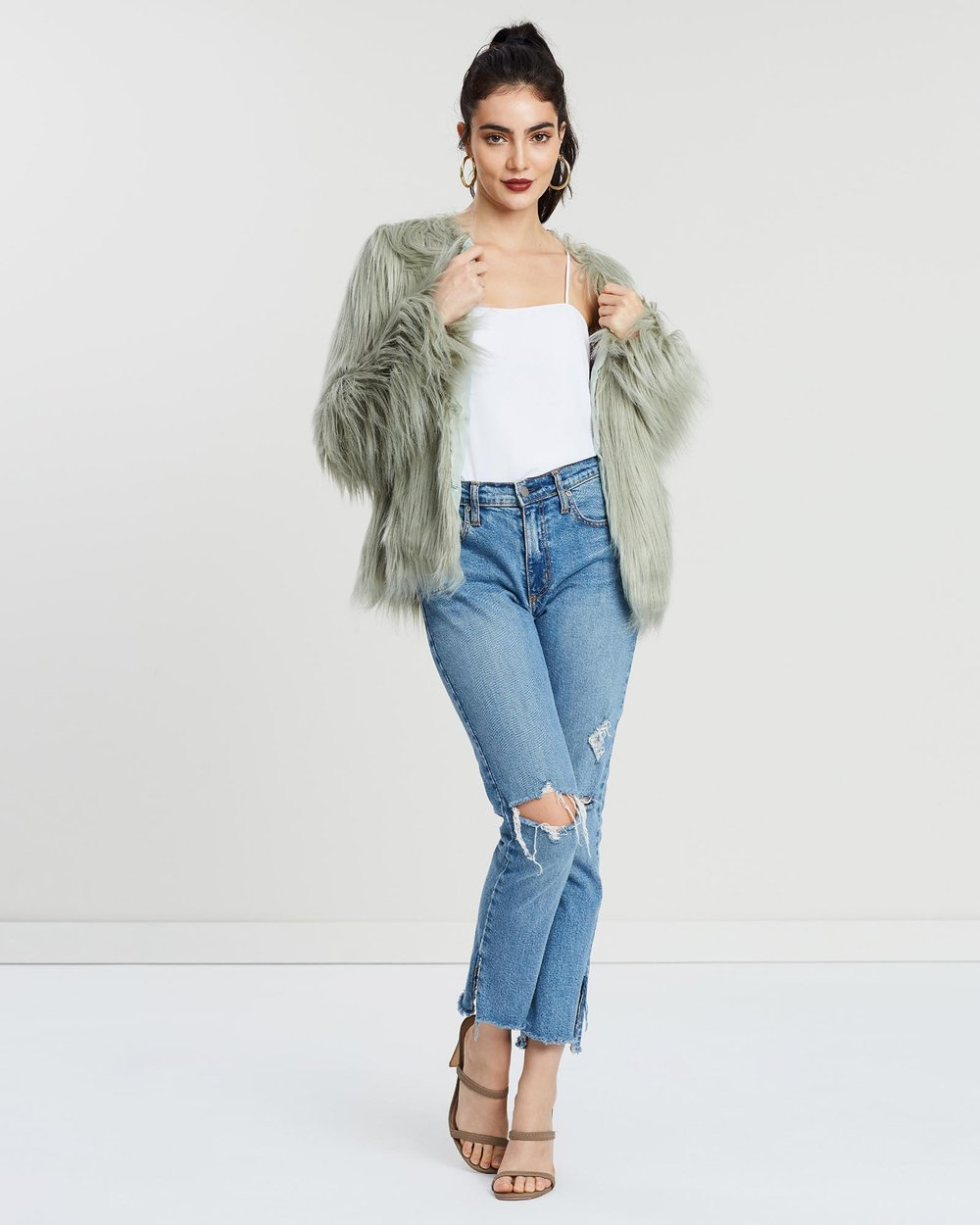 7749c9805b92 Unreal Dream Jacket by Unreal Fur Online | THE ICONIC | Australia