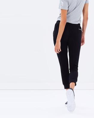 Pilot Athletic Lilly Mesh 3 4 Pants - Sweatpants (Black)