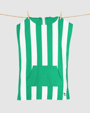 Dock & Bay Poncho Mini 100% Recycled Cabana Collection - Pool Towels (Green)