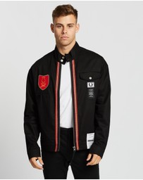 Fred Perry - Art Comes First Shield Patch Harrington Jacket