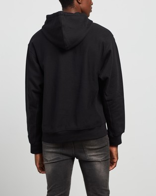 Carhartt American Script Hooded Sweatshirt - Hoodies (Black)