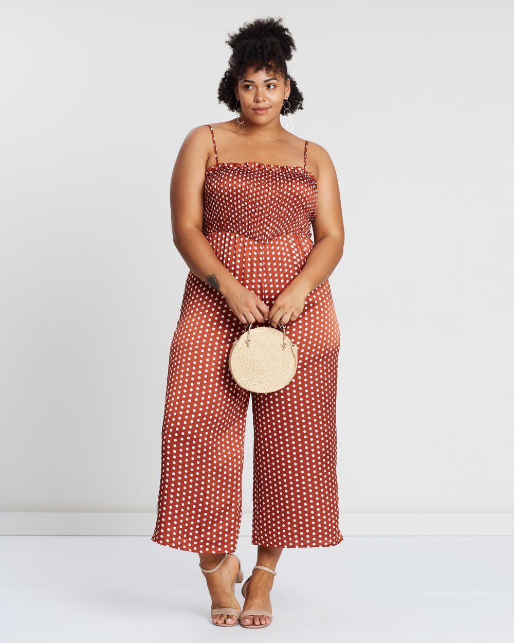 84bfa5c0f2a8 ICONIC EXCLUSIVE - Stacey Spot Jumpsuit by Atmos Here Curvy Online ...