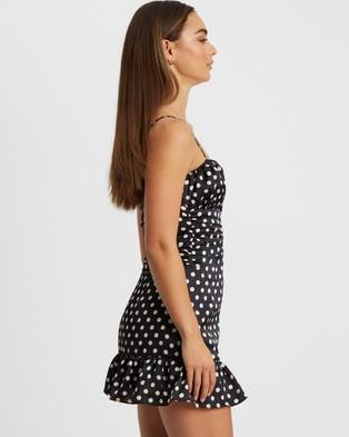BWLDR Rome Dress - Printed Dresses (Black Base Spot)