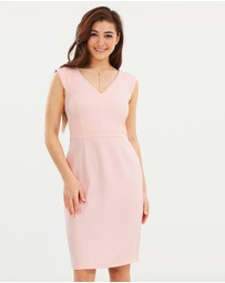 Dorothy Perkins - V-Neck Pencil Dress