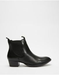 Atmos&Here - Nicole Leather Ankle Boots