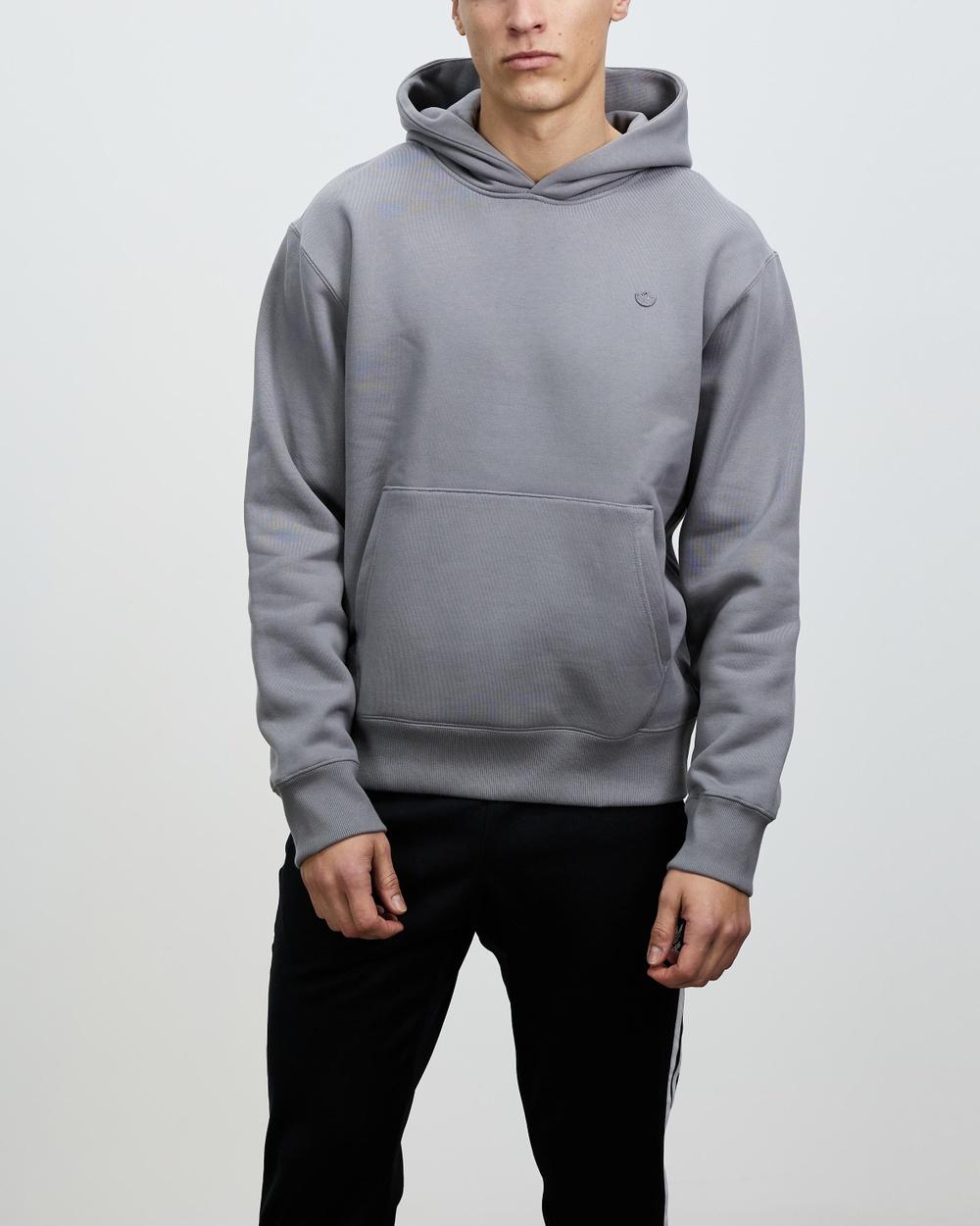 adidas Originals C Hoodie Hoodies Grey Three