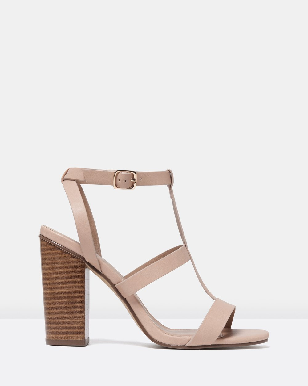 f1a17d0faeca Jada Caged Block Heels by Forever New Online