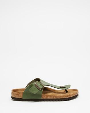 Birkenstock Ramses Birko Flor Vegan   Men's - Casual Shoes (Saddle Green)