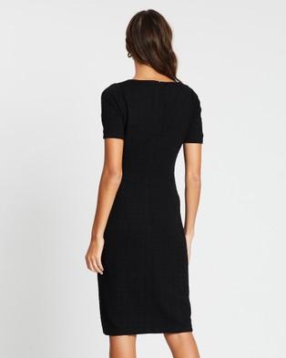 David Lawrence Kamila Pencil Dress - Dresses (BLACK)