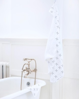 Aden & Anais Muslin & Hooded Towel Set - Towels (Love Struck)