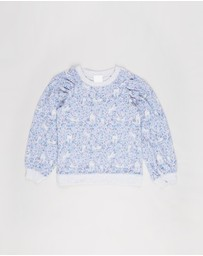 Cotton On Kids - Priscilla Puff Sleeve Top - Kids-Teens