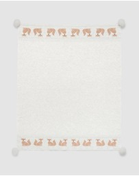 Purebaby - Fox Fairisle Blanket