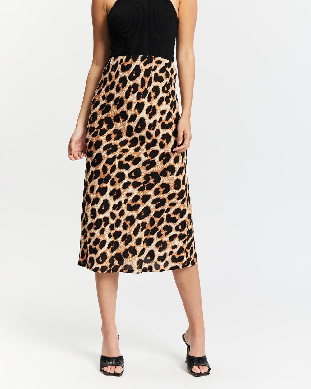 All About Eve Lyla Midi Skirt Skirts Multicoloured