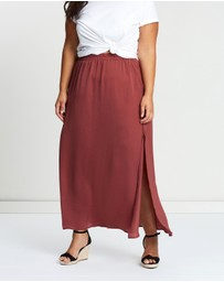Atmos&Here Curvy - ICONIC EXCLUSIVE - Daydream Maxi Skirt