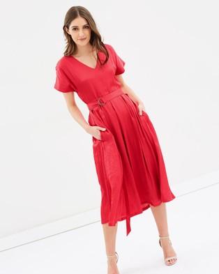 Sportscraft – Signature Camilla Dress red
